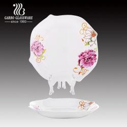 Печать особую форму Белый опаловый стекло для пластических масс