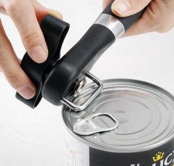 Aço inoxidável pode abrir Cozinha Ferramentas Manual de Segurança pode Opener para restaurante com bordas lisas