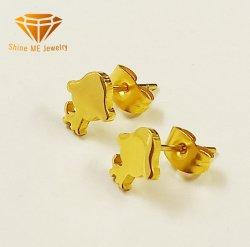Орган ювелирных украшений из нержавеющей стали IP-Gold серьги серебряные украшения пирсинг уха шпильки Er4817