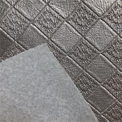 Strati Iridescent metallici del cuoio del Faux del mestiere degli strati del tessuto di cuoio dell'unità di elaborazione