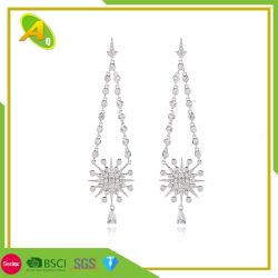 Lange Ohrring-kreatives Mikro sechs Grannen-Stern-Ohrring-Frauen - gesetzter Zircon-klassische Ohrringe (04)