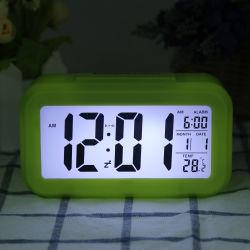 Colorida mesa simple reloj con alarma para los niños y los dormitorios