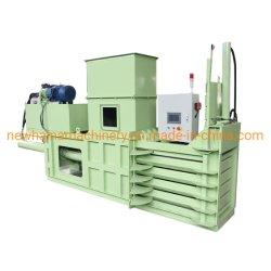Resíduos Semiautomático Horizontal Comprimir Papelão hidráulico da enfardadeira prensa de enfardamento Preço da Máquina