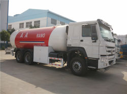 20 M3 Sino 10 Gas-zugeführte Fahrzeuge der Rad-HOWO LPG für Verkauf