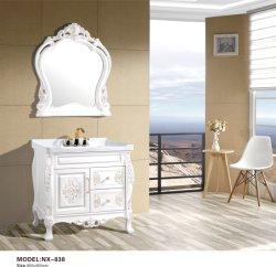 호텔 바쓰 화장대 304 스테인리스 스틸 욕실 캐비닛 가구 보관함 다리를 포함한 세면대 캐비닛 거울 캐비닛