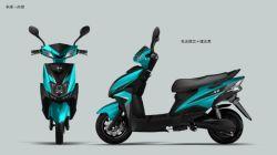 Estilo de moda Motociclo Scooter eléctrico 60V800W20AH