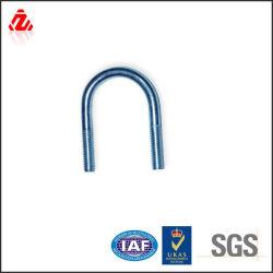 Высококачественные сорта нержавеющей стали с метрической резьбой U болт с пластинами П-образный болт зажима