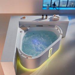 Vasca da bagno Heart-Shaped di Jaccuzi del mulinello di uso delle coppie di disegno romantico moderno di sauna