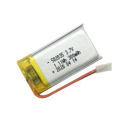 충전식 대용량 502035 리튬 폴리머 3.7V 핫 판매 RC 장치/스피커용 300mAh LiPo 배터리