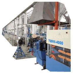 Автоматический кабель питания из ПВХ бумагоделательной машины / Электрический провод кабельного оборудования для кабельного экструзии линии