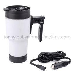 Plastikwärmer lebhafte Trommel-Selbstwärmenmilch-Becher des Arbeitsweg-Becher-Temperaturregler-Kaffeetasse-elektrischer Heizungs-Auto-Kaffee-Wärmer-12V