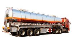 52МУП Cimc Huajun алюминиевого сплава топлива/БЕНЗИН/БЕНЗИН/нефтяного танкера