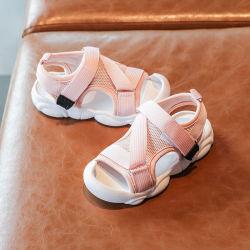 الصيف الأطفال أحذية الأطفال الصغار الأحذية الأولاد الأحذية البنية الرمل