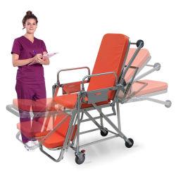 調節可能な医学の救急車の緊急のレスキュー伸張器のトロリーを折るSkb039 (e)の病院の家具