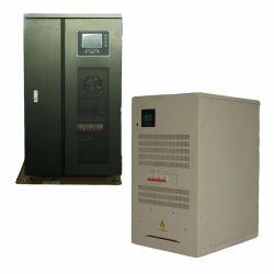 Hoge Macht 10kw-200kw Met lage frekwentie van Omschakelaar de In drie stadia van de ZonneMacht van het Net met Module IGBT