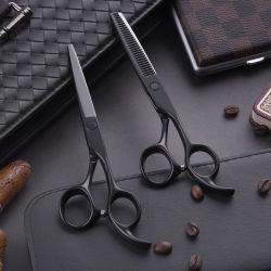 Il lavoro di parrucchiere d'assottigliamento glassato di taglio del Teflon del rivestimento della maniglia del salone di capelli Scissor