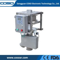 Separador de metal detector de polvo con una alta sensibilidad
