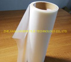 Polipropileno laminado Pre-Coating seco BOPP laminado pegamento Termofusible EVA Film 27mic Super alto brillo blanco