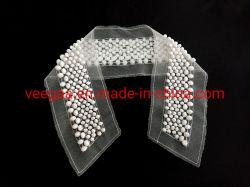 Accessoires de mode d'accessoires du vêtement perlé collier artisanal de garniture de cordon