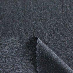スパンデックスによって編まれる木炭高温リアクター綿が付いているNtのポリエステルかナイロンは上のためのジャージー単一のファブリックをか下着またはスポーツ・ウェア好む