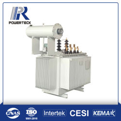 il tipo a tre fasi dell'olio 630kVA ascende il trasformatore di distribuzione di energia