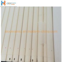 ارتفاع درجة الحرارة الصناعية الاسطوانات الخزفية الومينا المستخدمة في الكيلن البكرة
