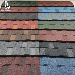 중국 제조 고품질 저가 지붕의 건물 자재 철강 돌로 코팅된 지붕의 타일