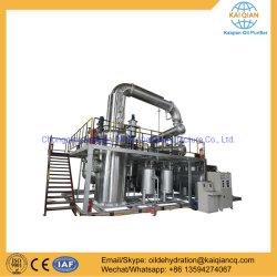 L'évaporateur à film mince utilisé l'usine de distillation de raffinage d'huile moteur