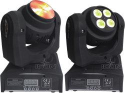 Двойной лицевой стороной света LED Wash перемещение головки Disco лампа