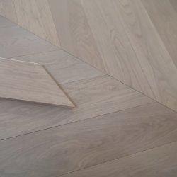 선명한 컬러 천연 솔리드 우드 평면 오크 목재 바닥