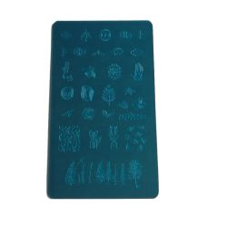 Las placas personalizadas Stamping Nail Art Nail diferentes diseños de la placa de sello