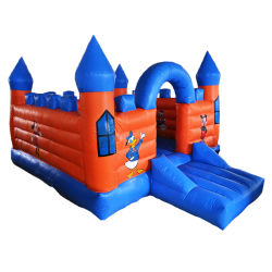Interessant Opblaasbaar Speelgoed die Kastelen Bouncy voor het Pretpark van Jonge geitjes springen
