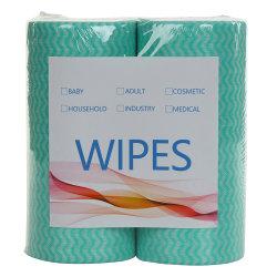 Spezielle Vliesstoffe Einweg-Vliesstoff Küche Desinfektion Nass-Wischtuch Reinigung Trocken Tuch mit Druck