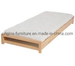 A madeira maciça Birch cama de solteiro