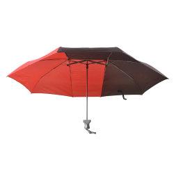 Черный и красный 3 складной зонтик пары односпальных зонтик для любителей природы и при печати