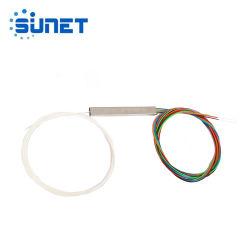 1X4 Optische MiniPLC van de vezel Splitser zonder Schakelaar