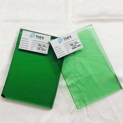 4.7mm-12mmの深緑色か自然な緑のフロートガラス(C-DG)