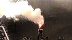 Étape effet DJ Bar LED LED jet de CO2 de la Machine Gun