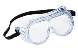 Anti-Fog protección Gafas de seguridad con Wide-Vision extra suave, ajustable y ligero, claro