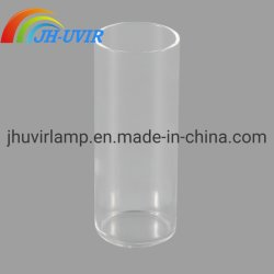 明確な耐熱性水晶ガラス管の双生児の水晶管