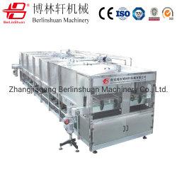 Entièrement automatique / verre bouteille Pet / boîtes/lait/Beveage Jus de fruits et boissons en bouteille de bière et le thé le réchauffement de la machine de refroidissement de pulvérisation