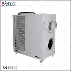 Het draagbare Mobiele Commerciële Dak van de Precisie van de Tent AC/Industrial van de Tentoonstelling verpakte Centrale Airconditioner