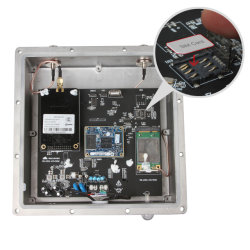먼 거리 조명 관리를 위한 Transeiver 모듈을%s 가진 GSM 게이트웨이