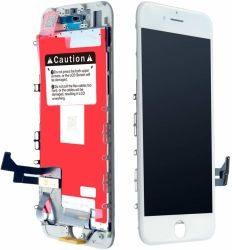 Жк-дисплей для мобильного телефона iPhone 7 Plus замена белого цвета 5,5-дюймовый ЖК-дисплей с сенсорным экраном 3D дигитайзер рамы в сборе в полном объеме