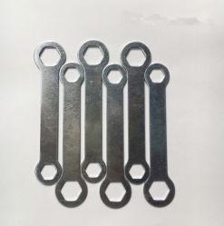 Begrenzter Schlüssel galvanisiertes zweifach verwendbares Schlüssel-Hilfsmittel-Minischlüssel-Handwerkzeug