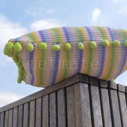 Hauptgewebe 2020 die populärste multi Farben-gestreiften im Freienaufenthaltsraum-Stuhl-Kissen