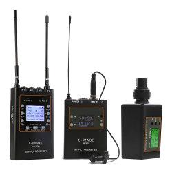 Ricevente del sistema del microfono di E-Immagine e trasmettitore senza fili professionali (MTR-S2)