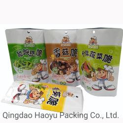 Cor personalizada laminada Impressão a embalagem de alimentos com frutos secos de casca rija Embalagem de pé a bolsa de Fecho