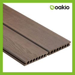 Конструкция с крышкой на деревянные зерна WPC дерева Композитный пластик палубе