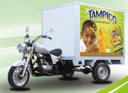 150cc - 300cc de refrigeración de agua Gas vagón Trike barato Motocicleta de tres ruedas con el cuadro de la cabina de carga (SY300ZH-C3).
